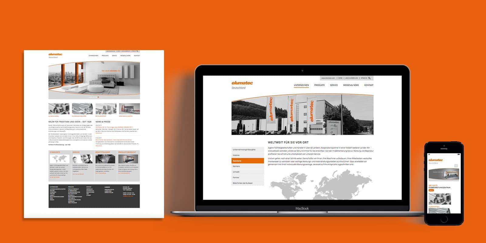 elumatec – Website responsive