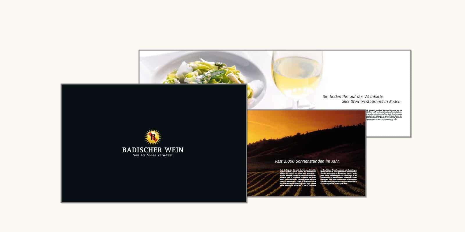 Badischer Wein – Imagebroschüre