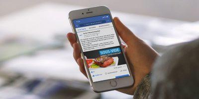 Komet Vakuumverpacken – Social Media Strategie Facebook