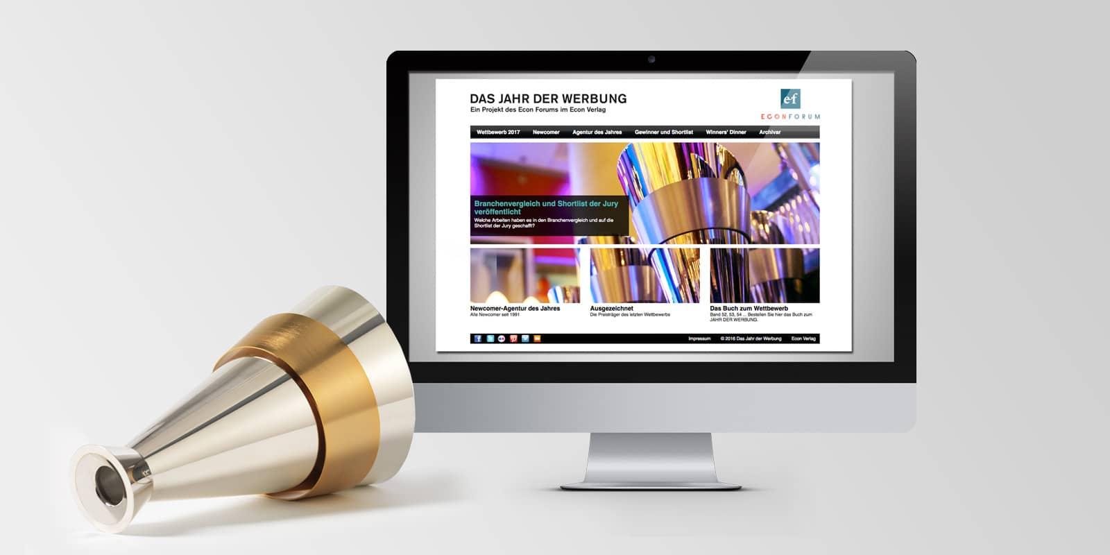 Jahrbuch der Werbung – 4 x 2016