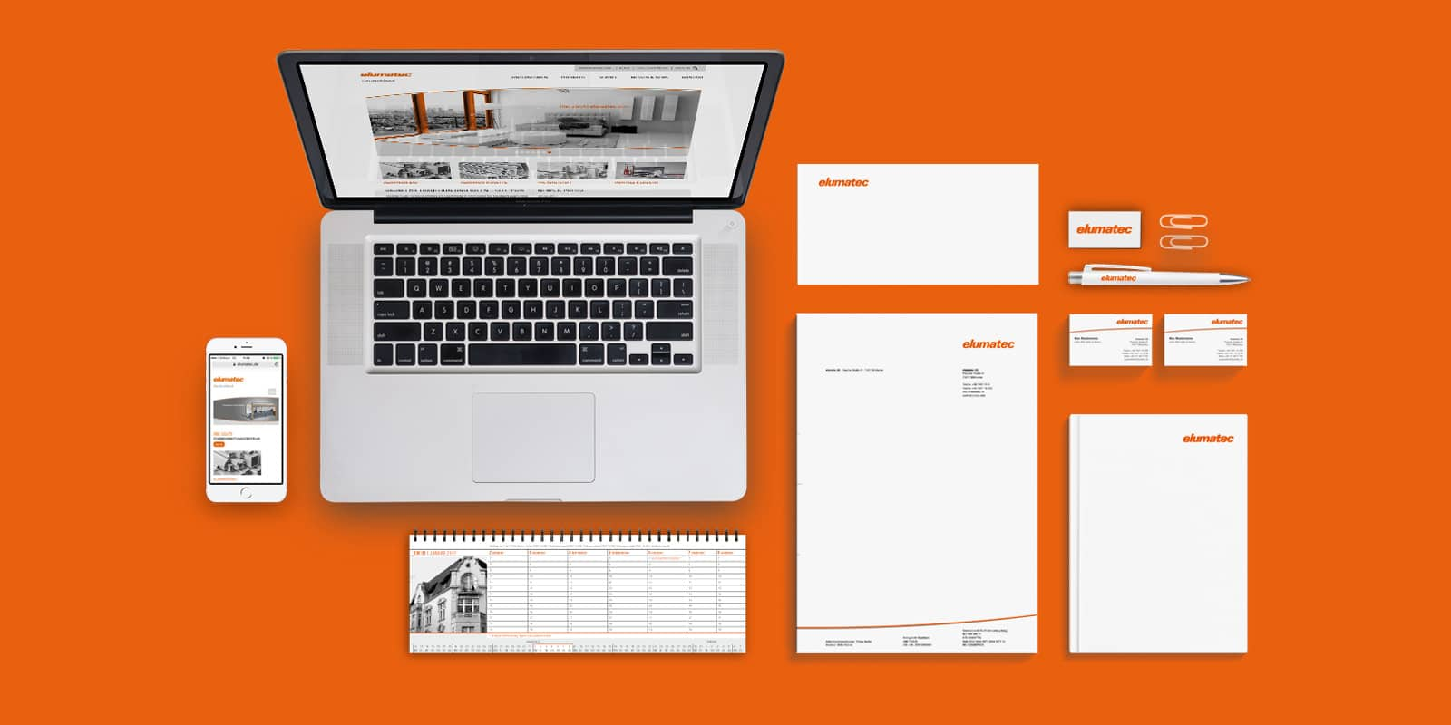 elumatec – Corporate Design