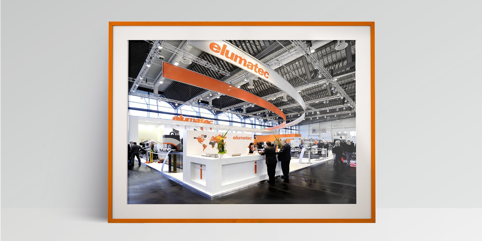elumatec – Messestand
