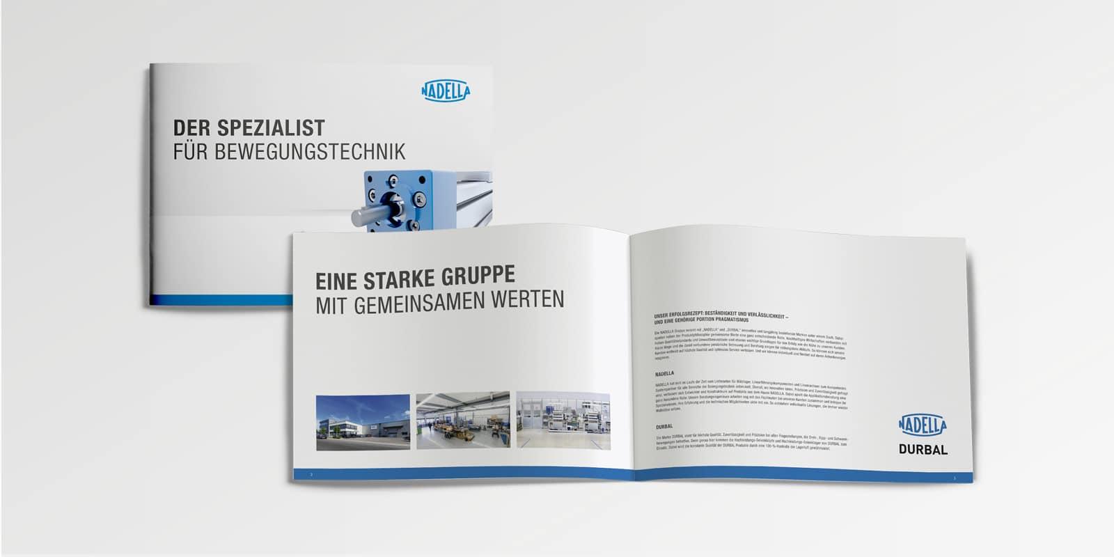 Nadella – Imagebroschüre