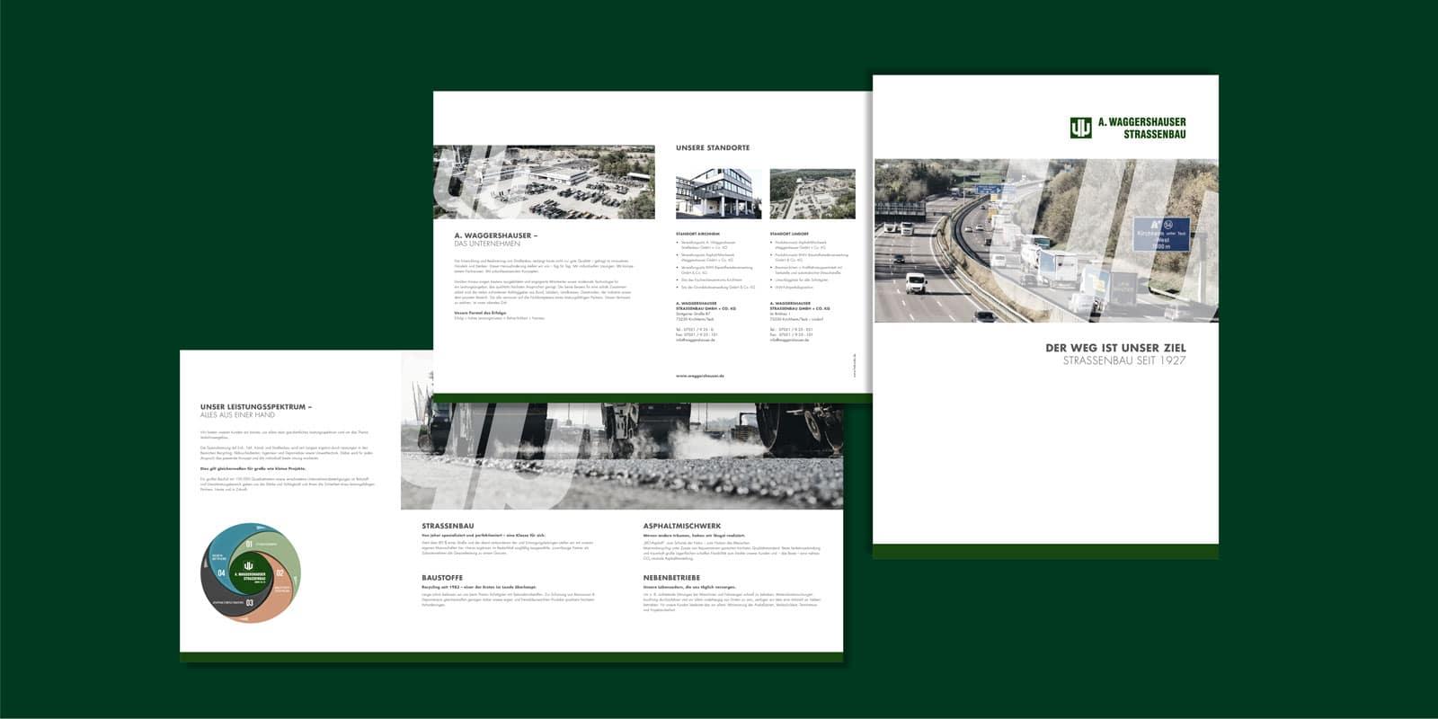 Waggershauser – Imagebroschüre