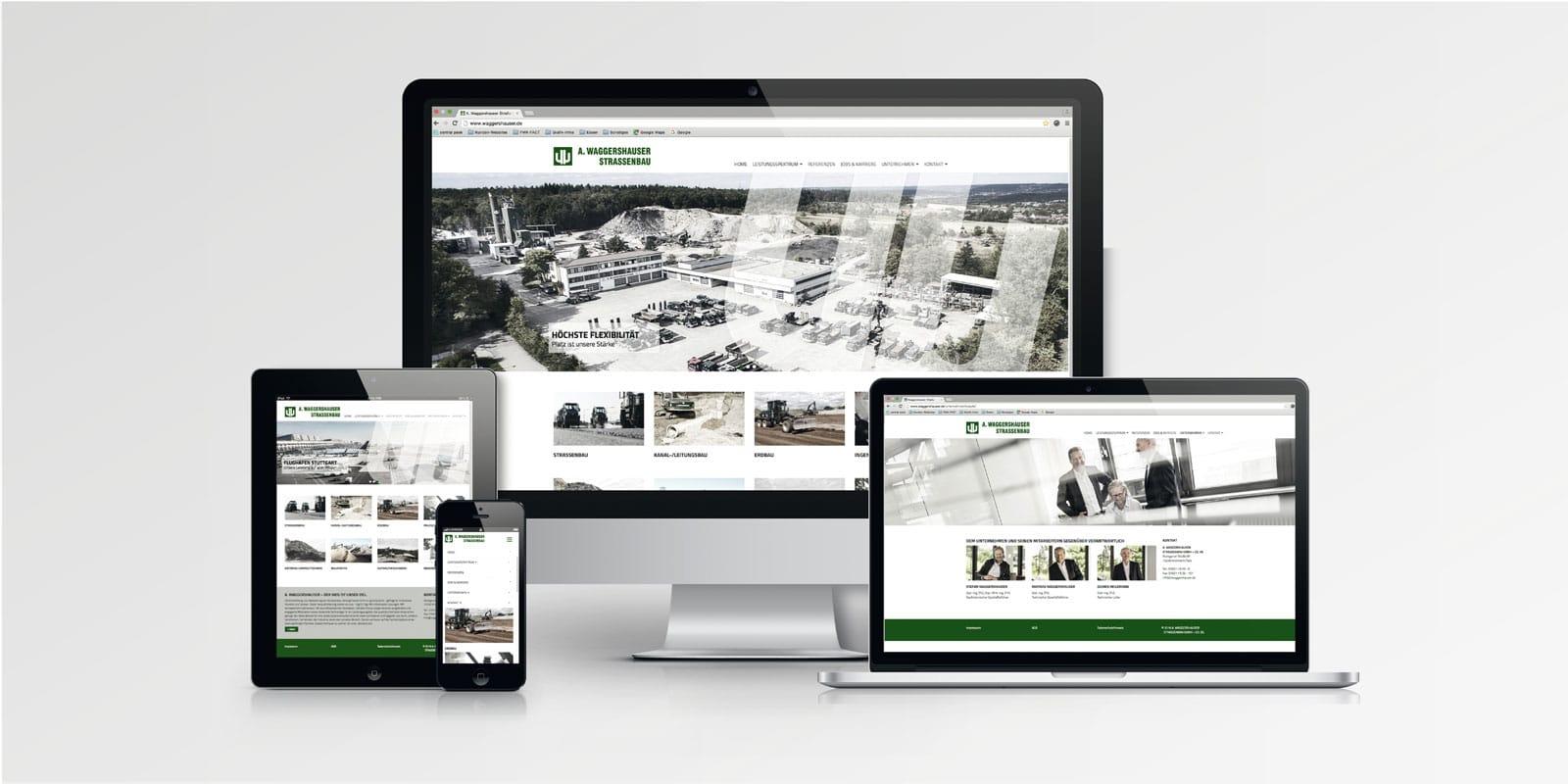 Waggershauser – Website