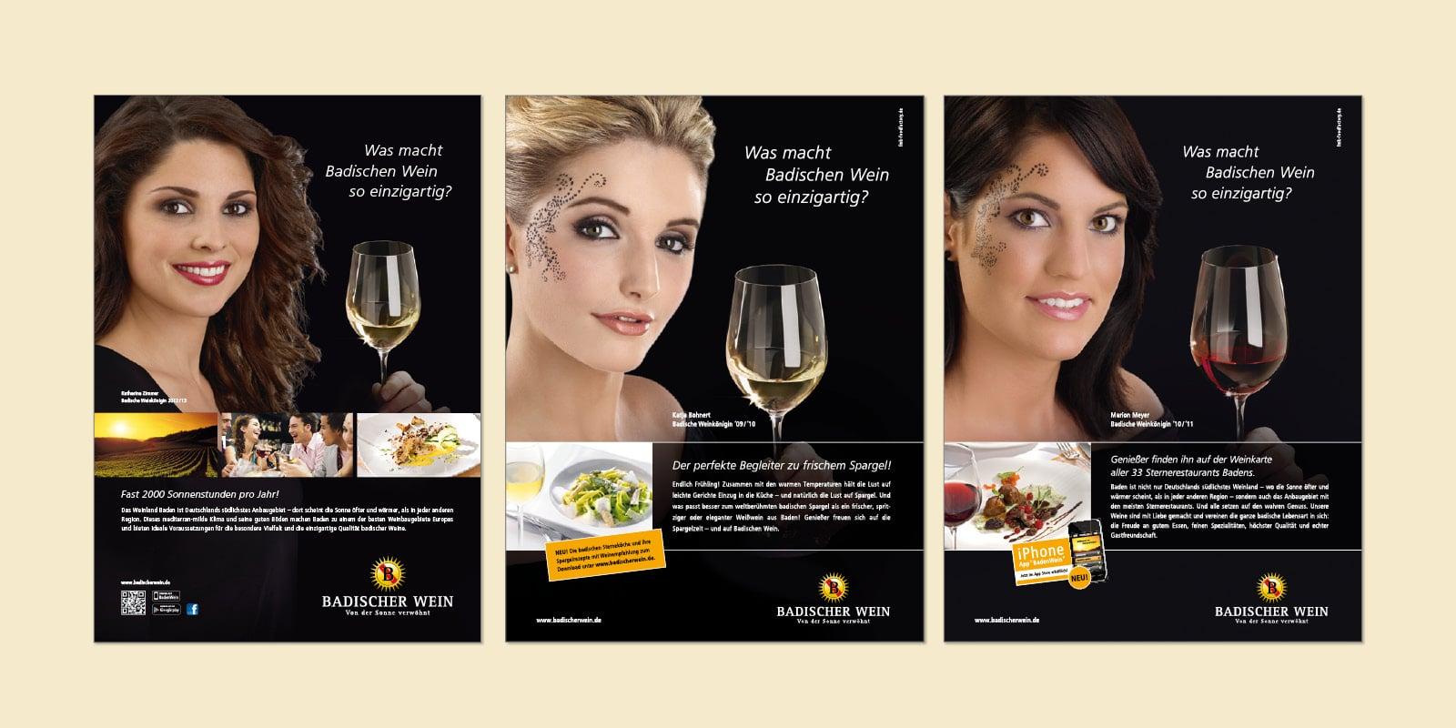 Badischer Wein – Anzeigen