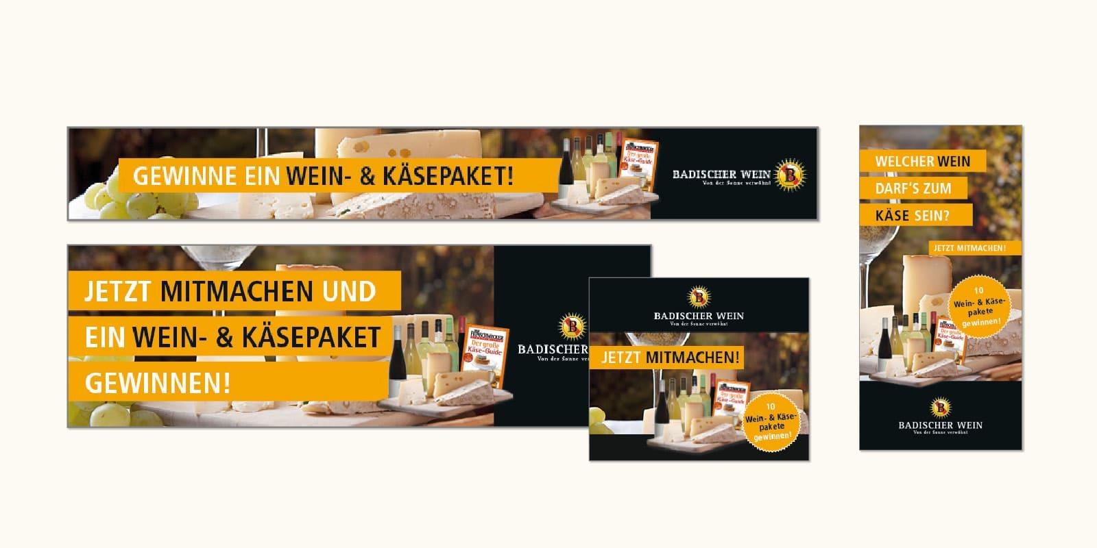 Badischer Wein – Online-Banner