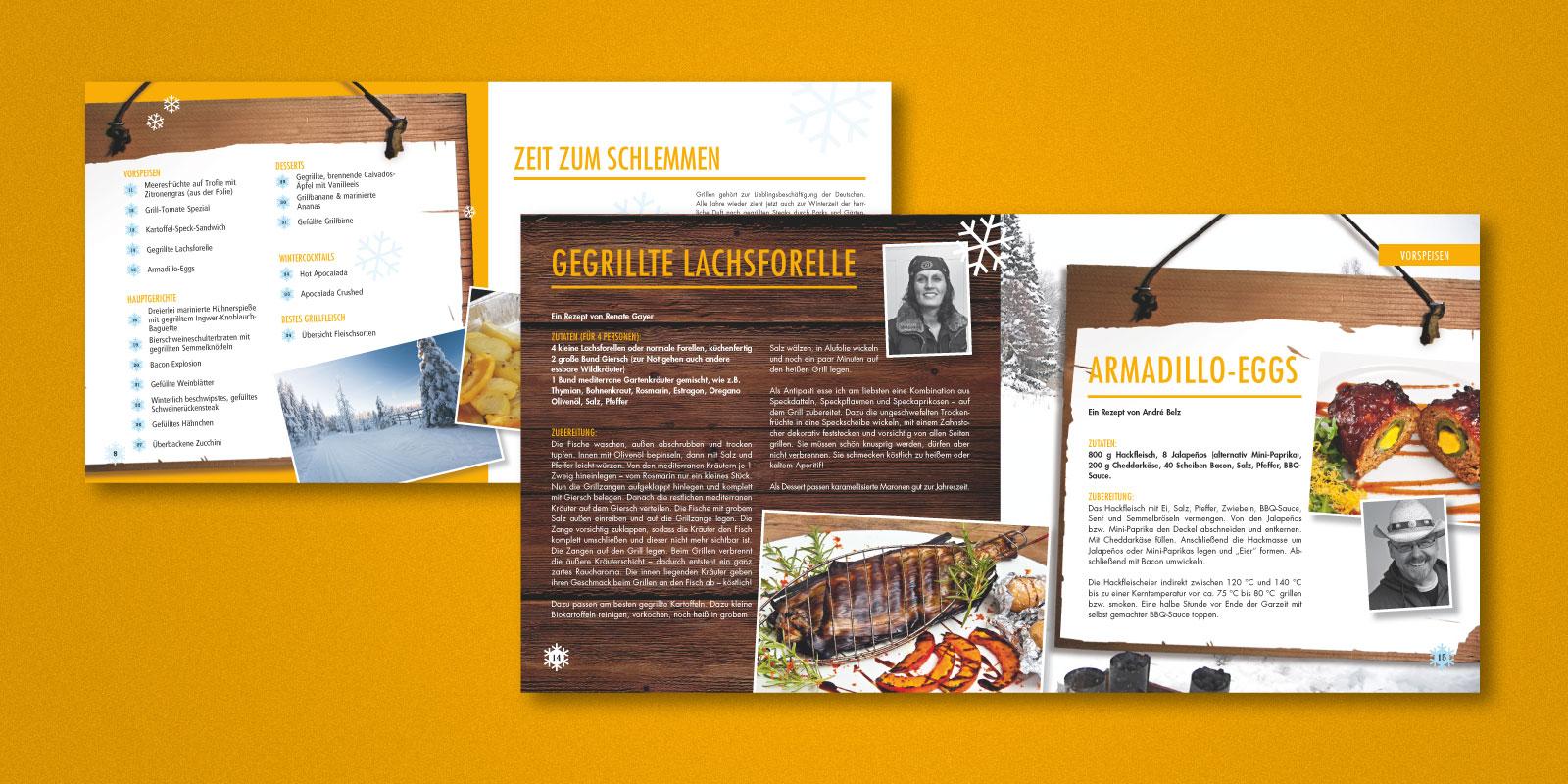 Edeka Südwest – Wintergrillen Broschüre