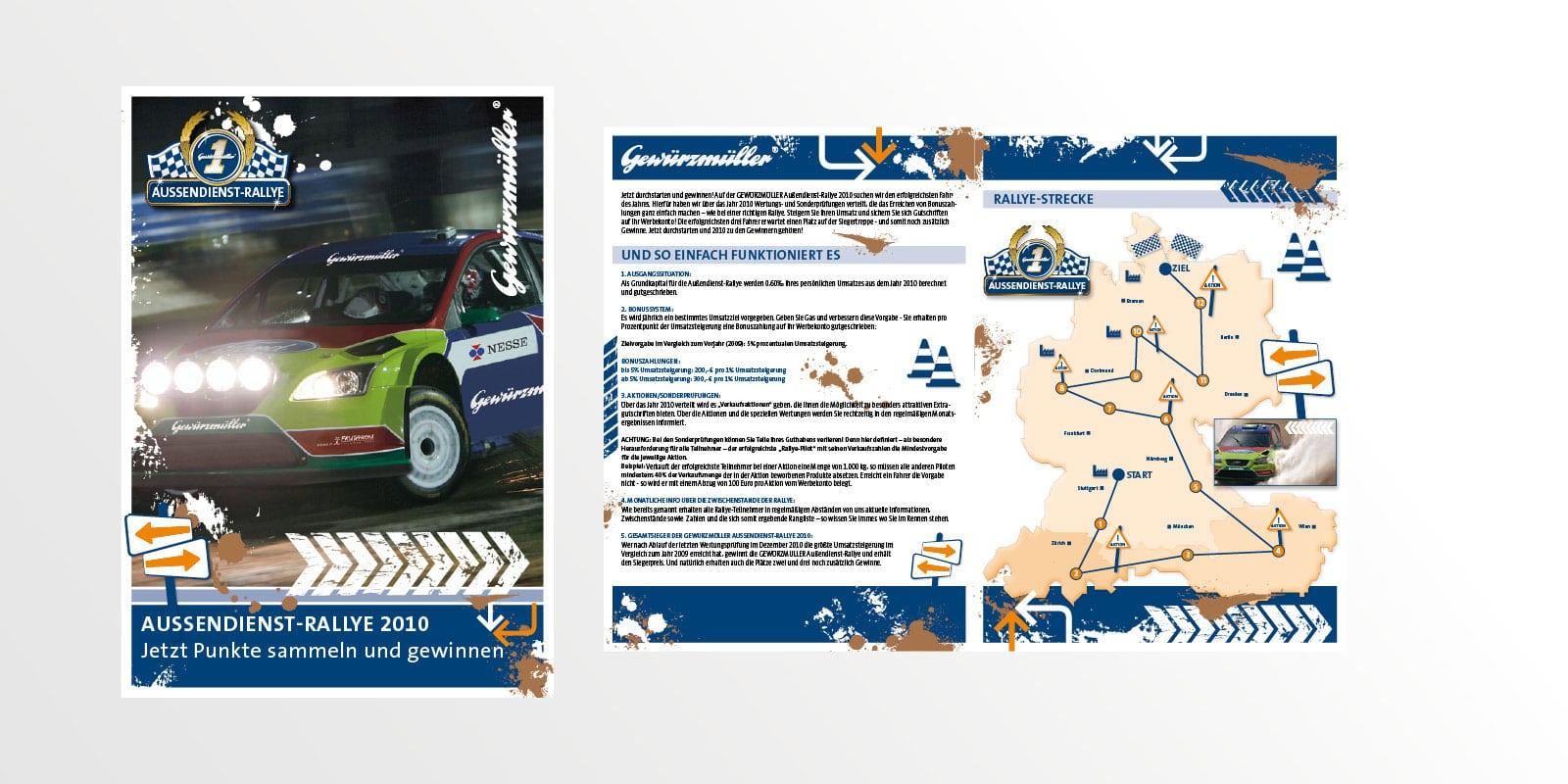 Gewürzmüller – VKF-Aktion Aussendienst Rallye 2010