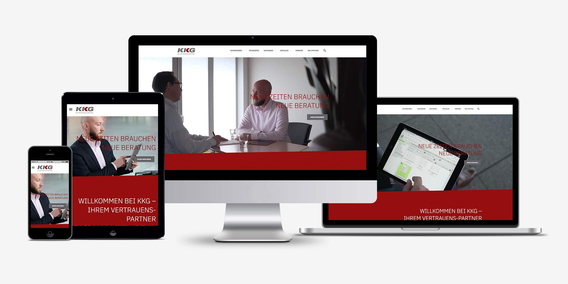 Responsive Website KKG