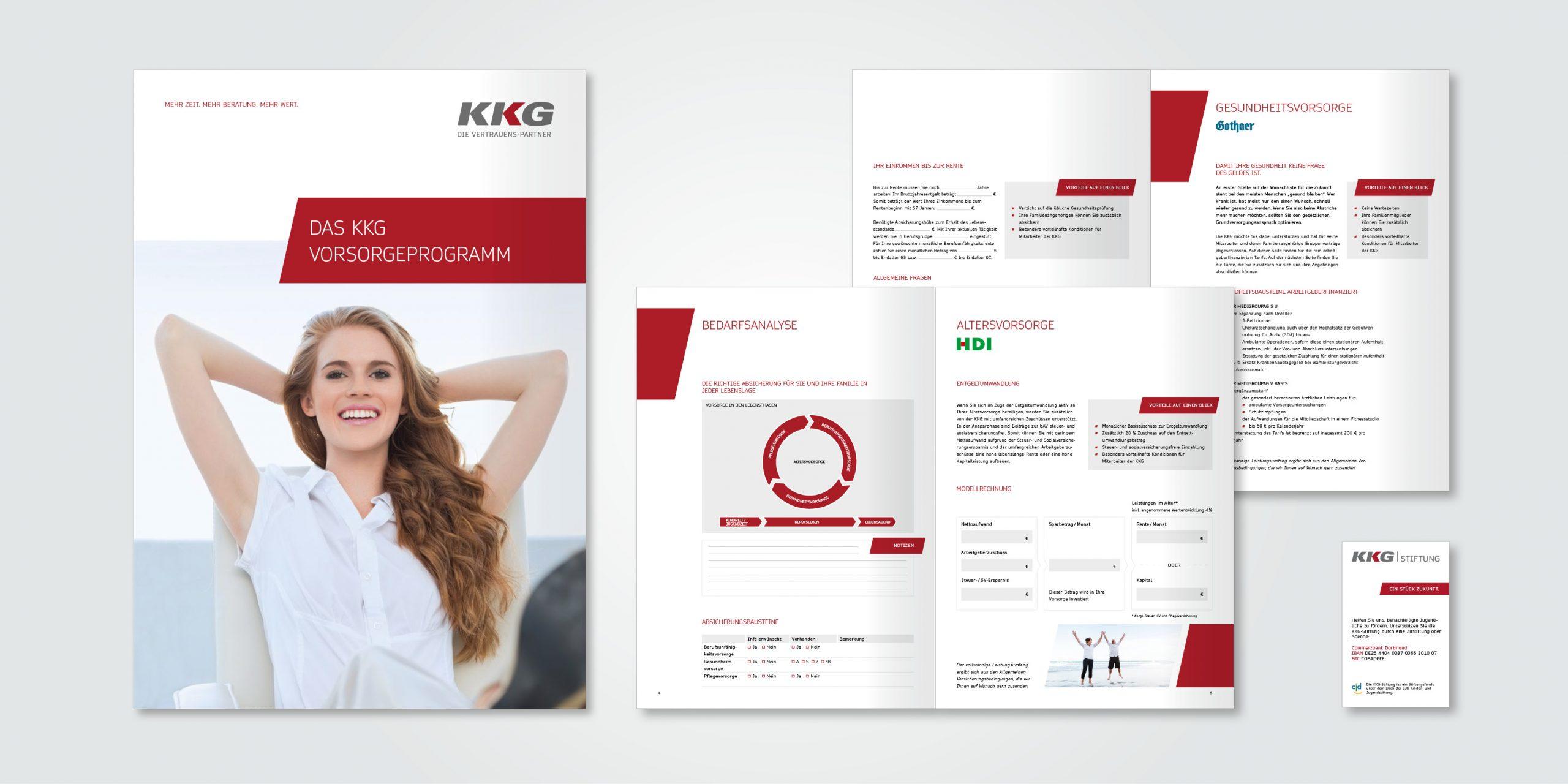KKG Broschüre Vorsorgeleitung