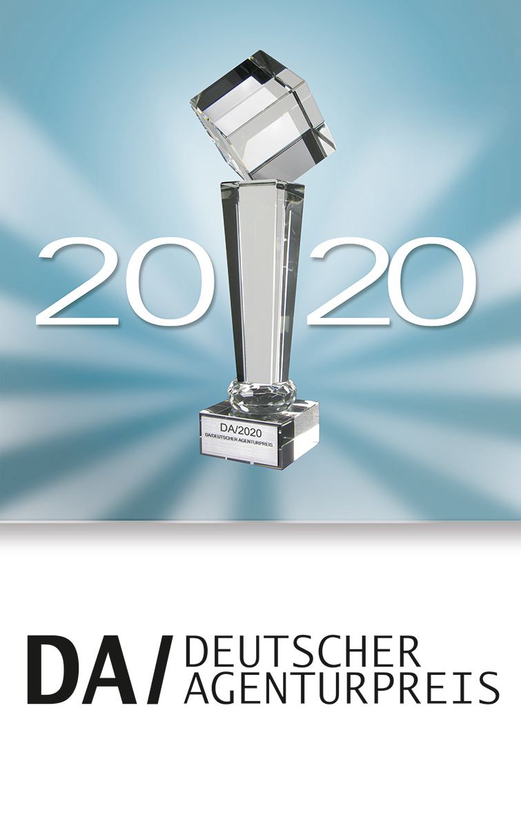 Deutscher Agenturpreis Pokalbutton 2020